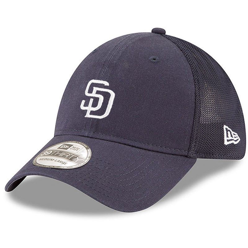 sale usa online arriving official images San Diego Padres New Era Team Precision 39THIRTY Flex Hat - Navy ...