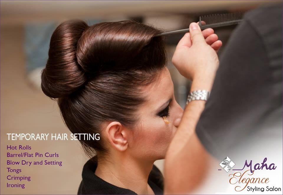Temporary Hair Setting For Any Occasions Mahaelegancestylingsalon Salon Spa Mahaelegance Mahainternationalaca Hair Styles Ballroom Hair Long Hair Styles