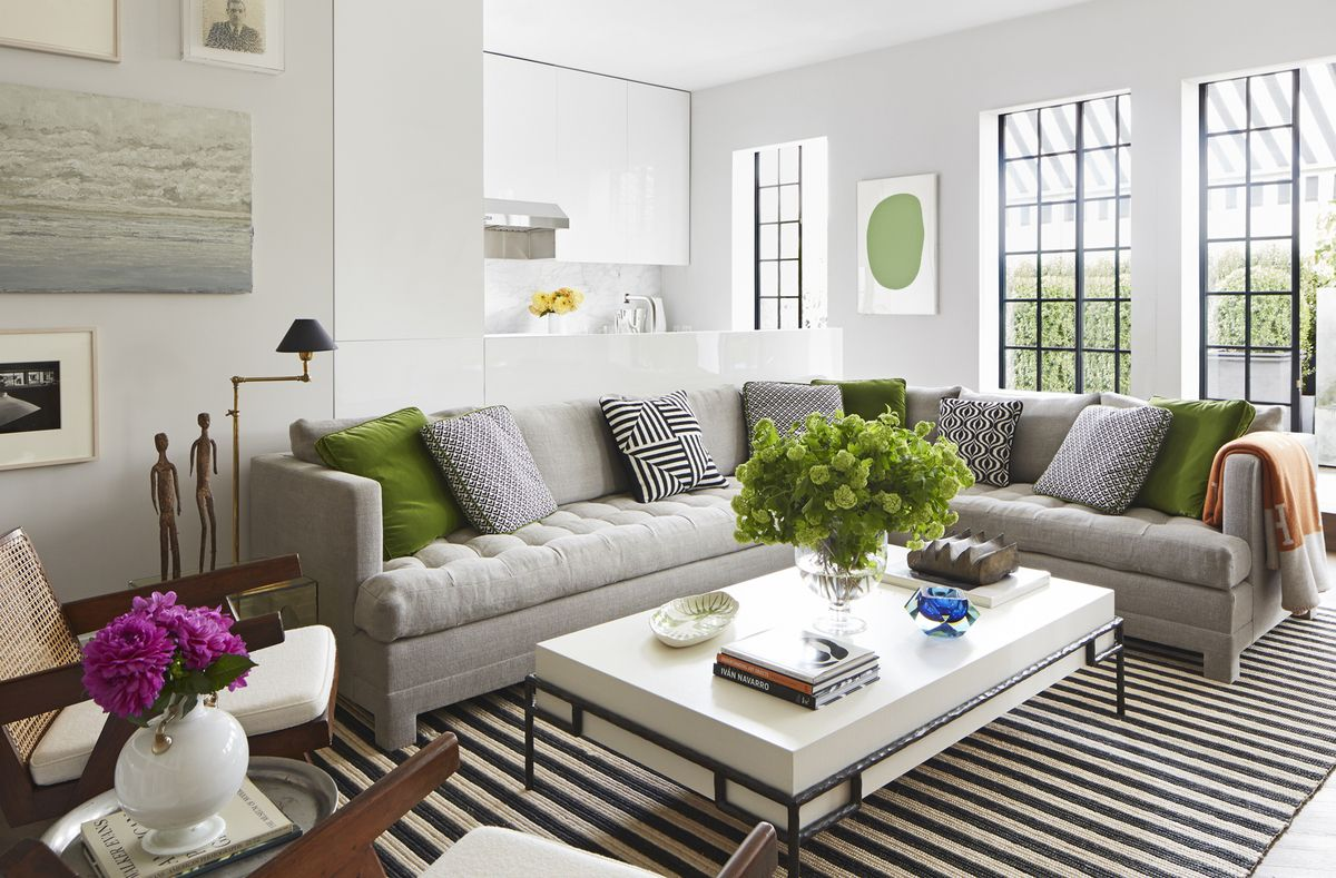 Innenarchitektur wohnzimmerfarbe gramercy park penthouse by timothy whealon inc  interior design