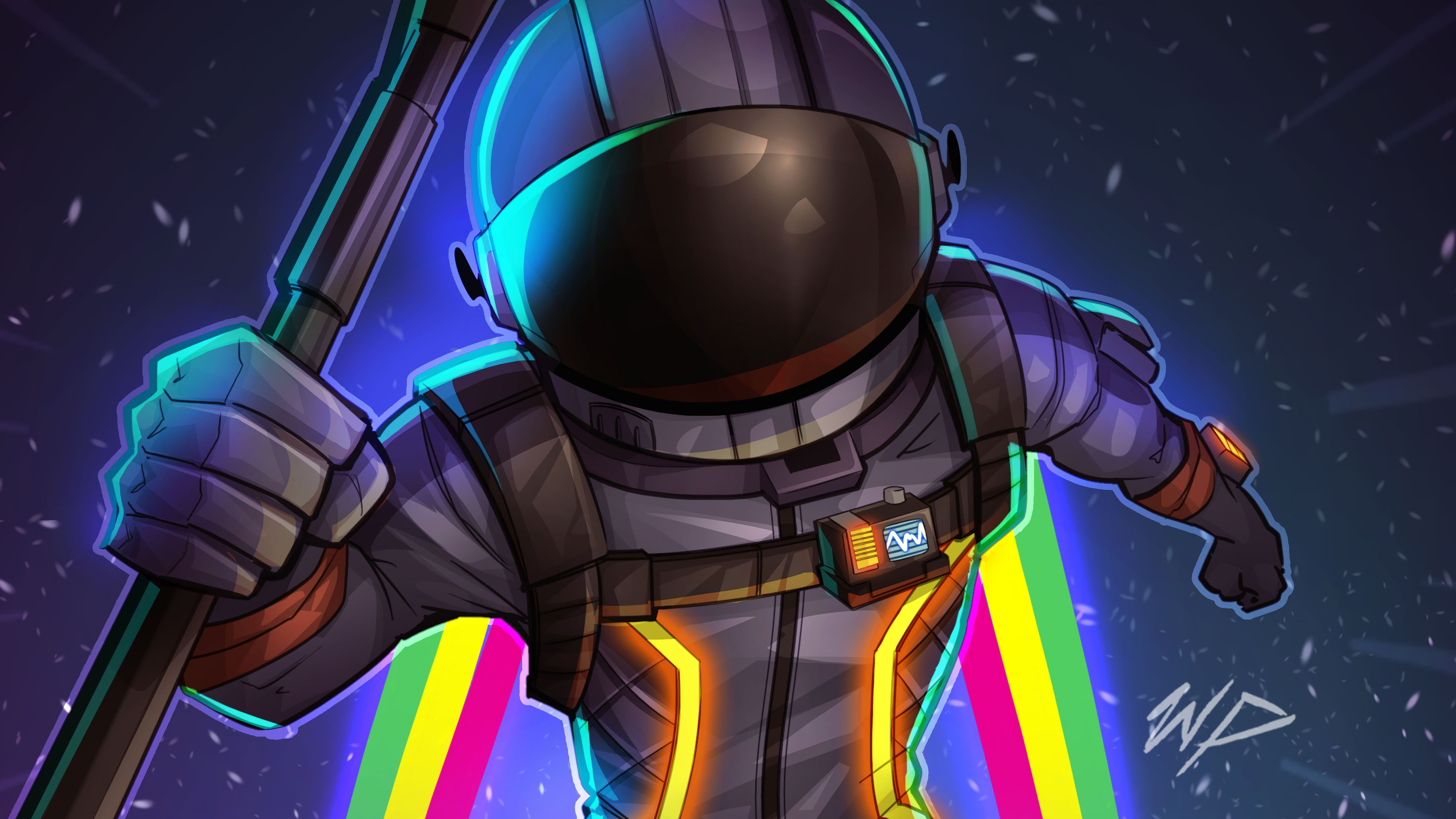 Awesome Astronaut Xd Youtube Art Game Wallpaper Iphone Gaming Wallpapers