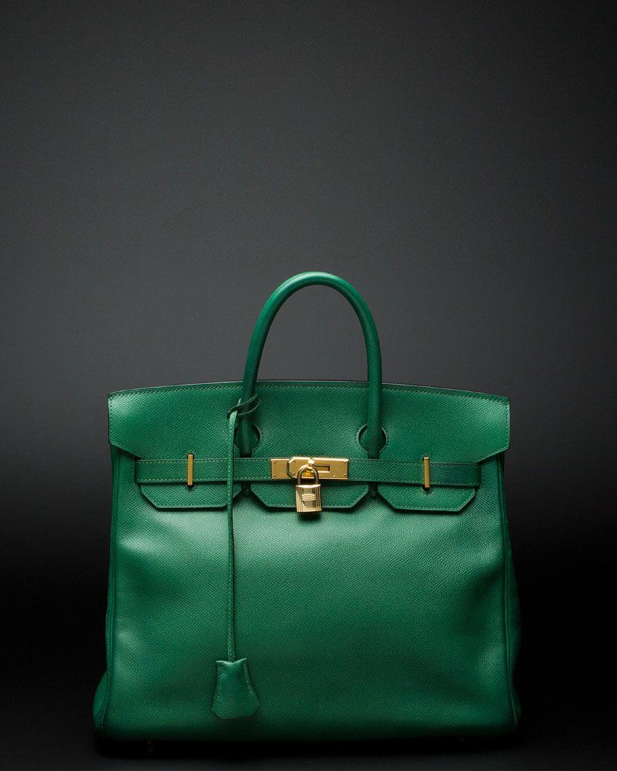 fa44de381 Hermes Birkin green - covet! | Bags, Wallets, Luggage, etc. in 2019 ...