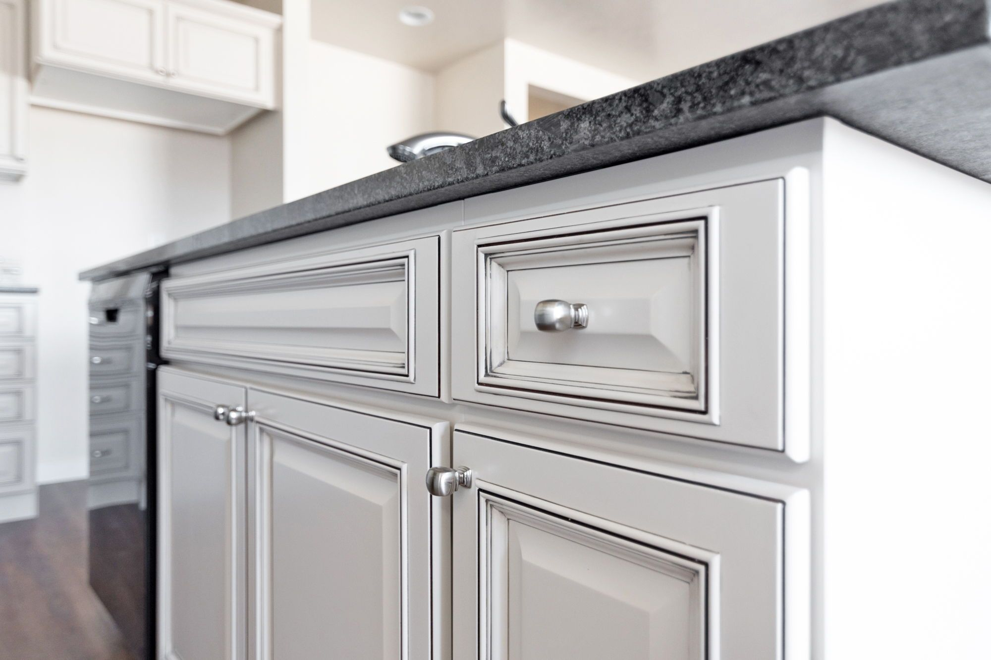 Do you love white cabinets as much as us? | White glazed ...