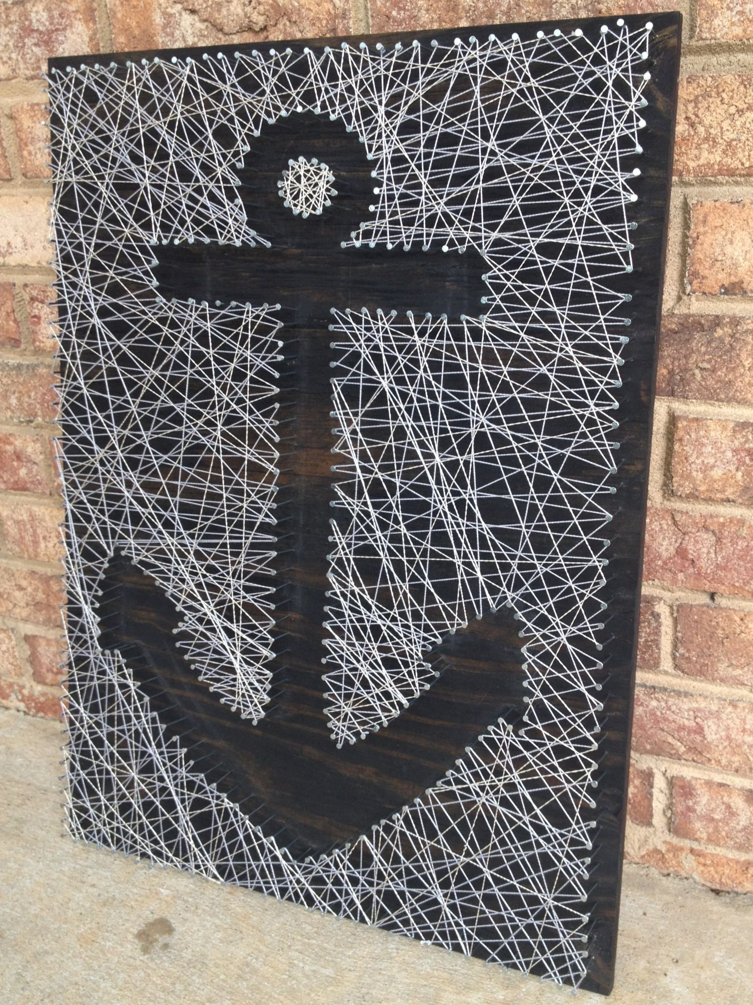 Etsy: http://www.etsy.com/listing/165064421/nail-and-string-art ...