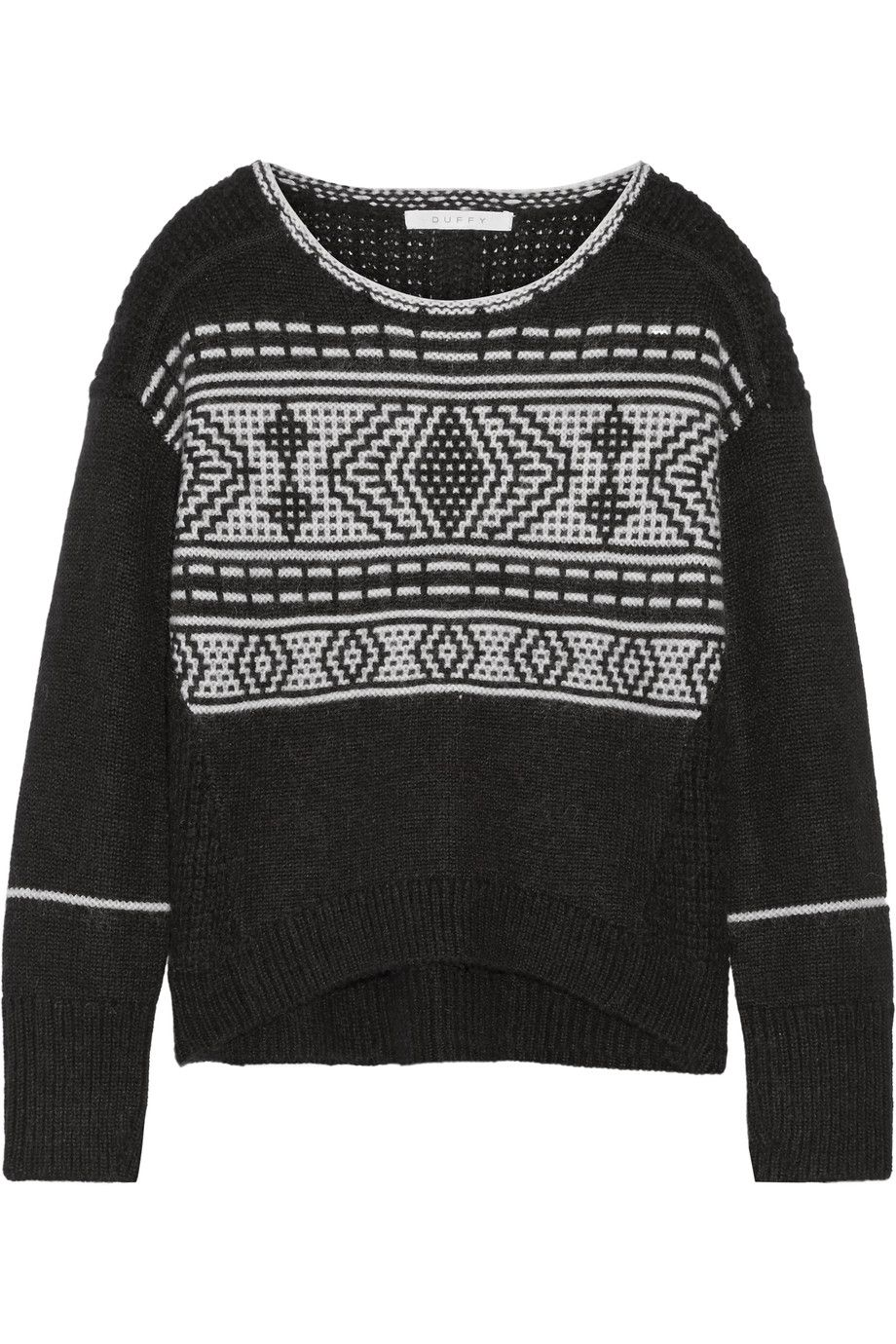DUFFY Fair Isle merino wool-blend sweater. #duffy #cloth #sweater ...