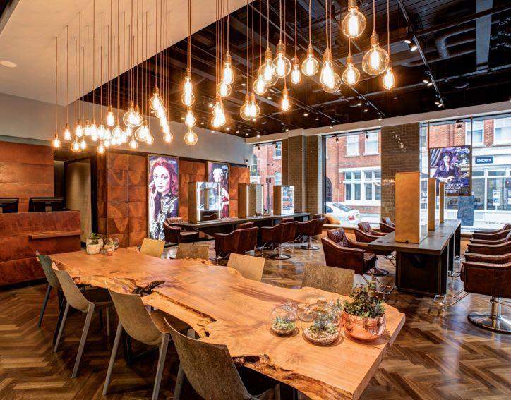 Aveda Lifestyle Salon - Edward James - Putney, UK.
