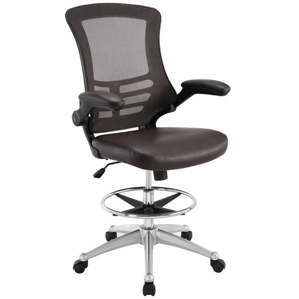 Let This Ergonomic High Back Drafting Chair Bring Your Workday To