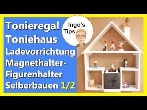 Tonie Regal selber bauen Toniehaus DIY mit Ladevorrichtung und Toniehalter IngosTipps Teil 1/2