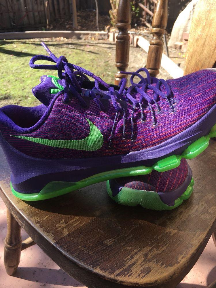 57ba7b9eb8d9 Nike KD 8 Green Stark Basketball Shoes  fashion  clothing  shoes   accessories  mensshoes  athleticshoes (ebay link)
