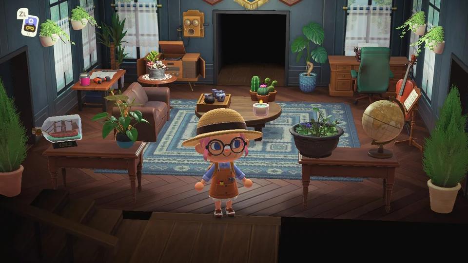 Pin on Animal Crossing New Horizons on Animal Crossing New Horizon Living Room Ideas  id=24606