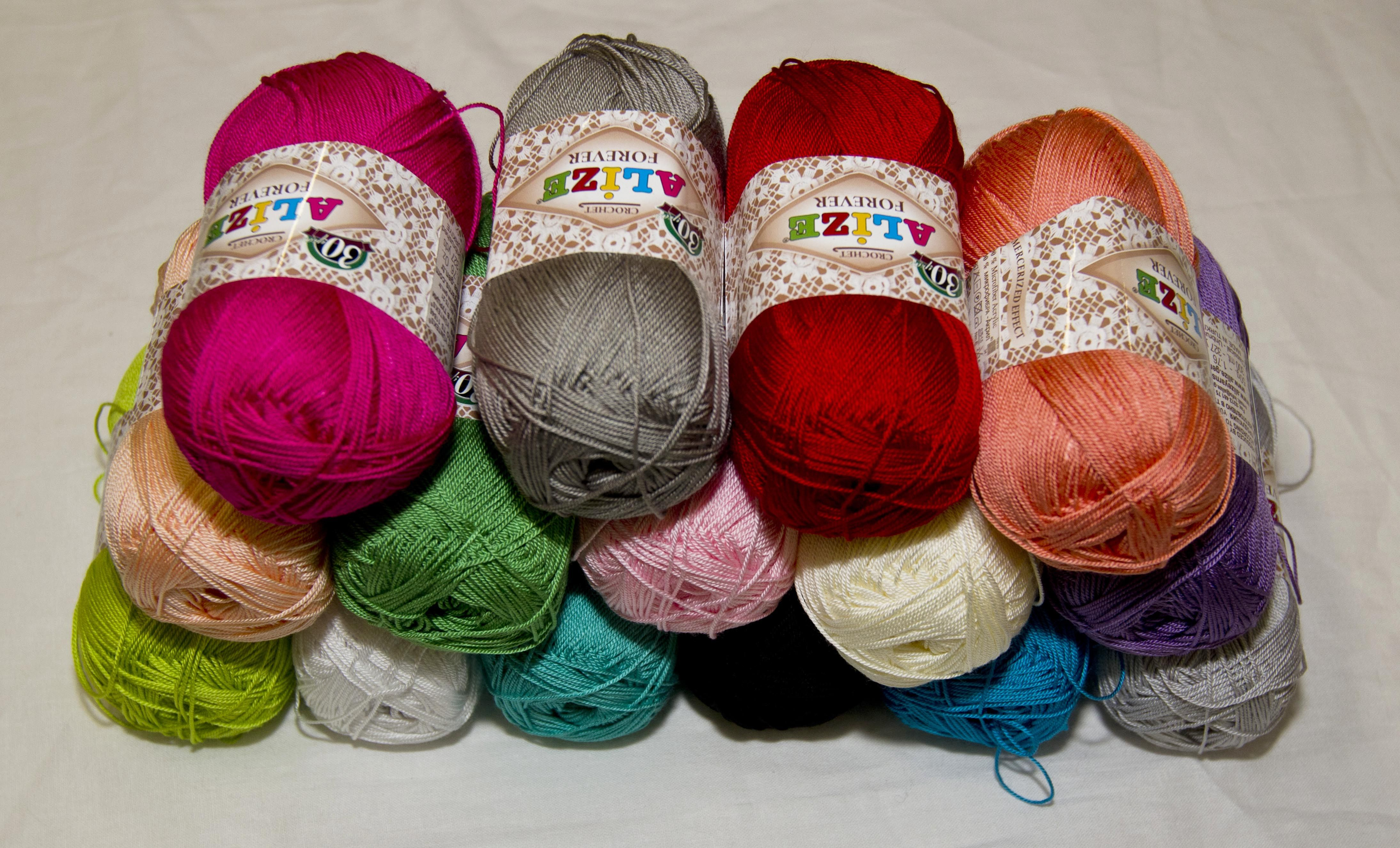 Háčkovacie priadze | Ružová letná akrylová priadza Forever 32 | Online predaj pletacích, strojových a textilných priadzí