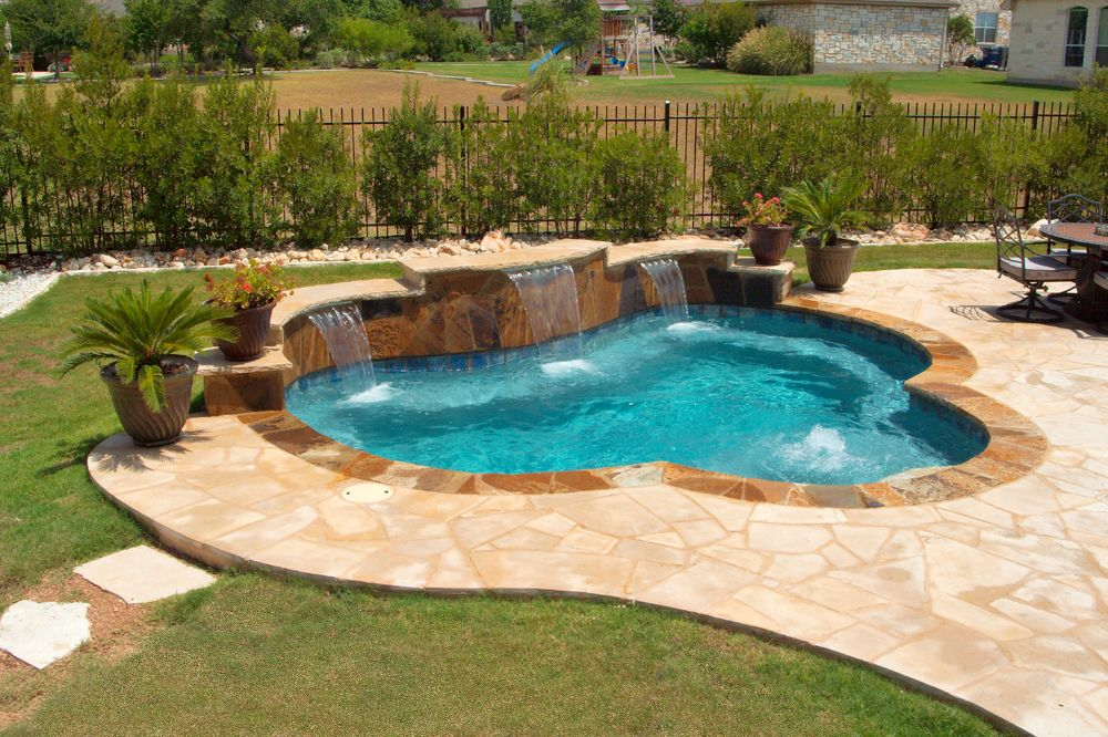 Pool Designs Freeform Geometric Vanishing Edge Pool Builders