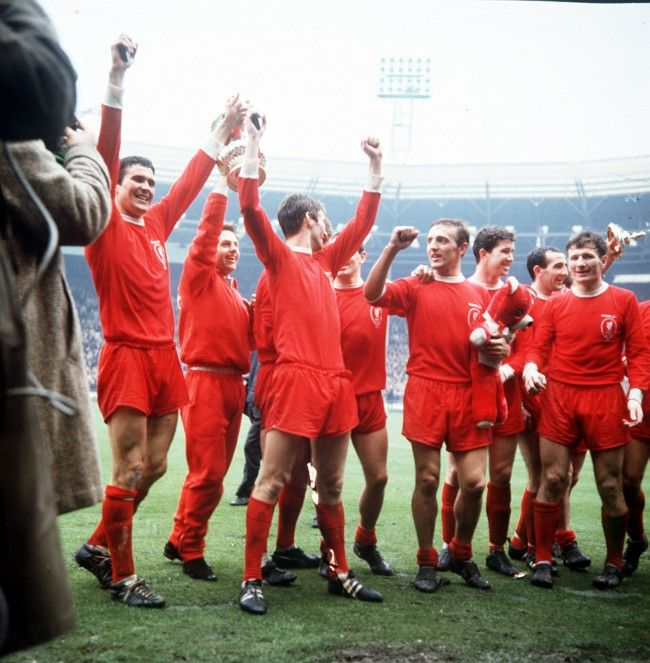 Liverpool FC 1965 Fa Cup Winners Football Trading Cards