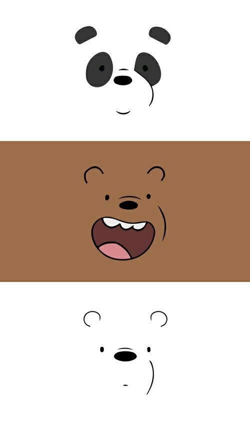 We bare bears wallpaper Wallpapers Pinterest Bare