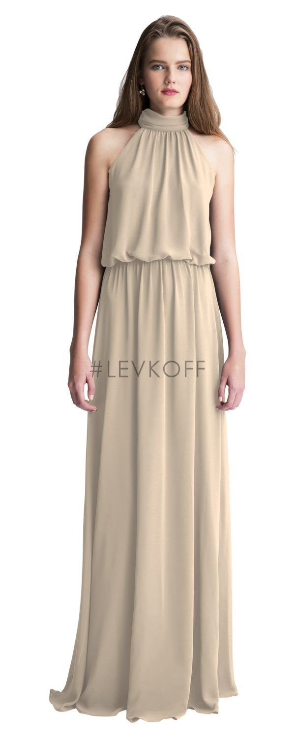 0e6dd9bc099d Bill Levkoff 7003 is shown in Cashmere and a size 14. | Bridesmaids ...