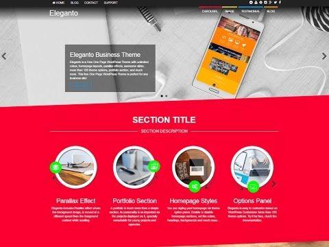 Eleganto Multipurpose WordPress Theme Review with Download Link ...