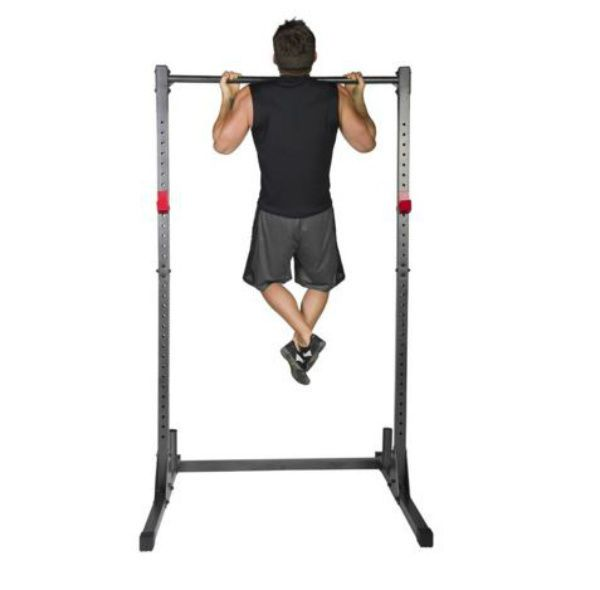 Exercise Stand Power Rack Pull Up Bar Weight Training Home Gym