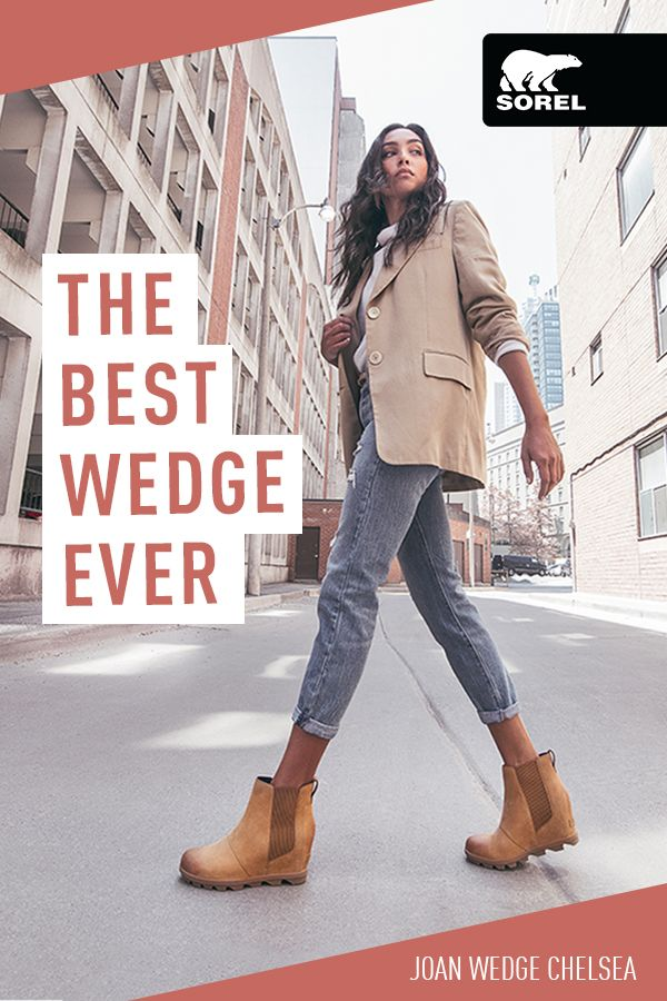 Wedge boots outfit