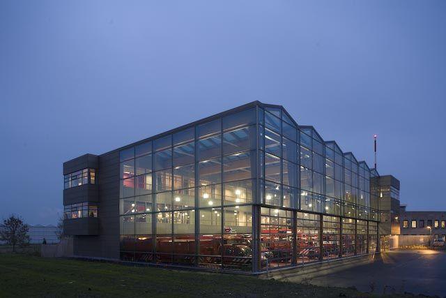 Pijnacker Nootdorp Fire Station - Netherlands / Ibelings Van Tilburg Architecten