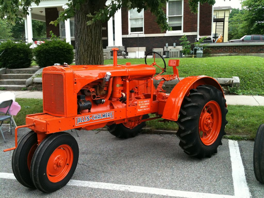 1937 Allis-Chalmers WC Vintage Tractors, Antique Tractors, Old Tractors,  Vintage Farm