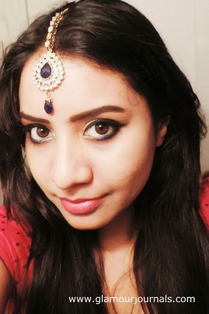 Black & Gold Diwali Smokey Eye Tutorial | Indian Makeup Tutorial | Makeup  Themed Around Jewelry
