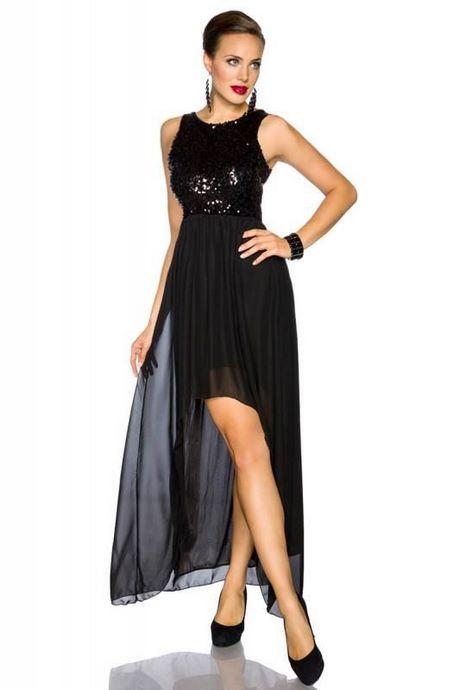 Pailletten kleid lang schwarz | Abendkleid, Kleider, Lange ...