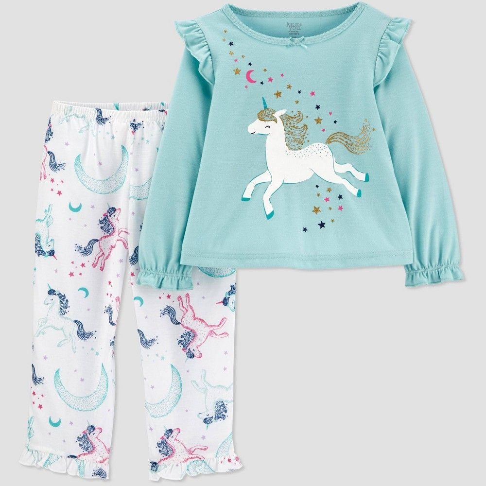 OLD NAVY Toddler Girl Pink Butterfly Pajama Set Size 5T NWT