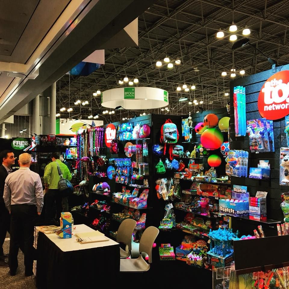 we are here at the 2018 new york toy fair come visit the toy