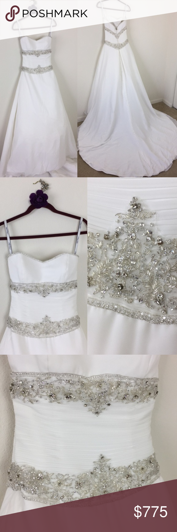 Betsey johnson wedding dresses  Henry Roth Kleinfeld Rhinestone Wedding Gown  Henry roth Beaded