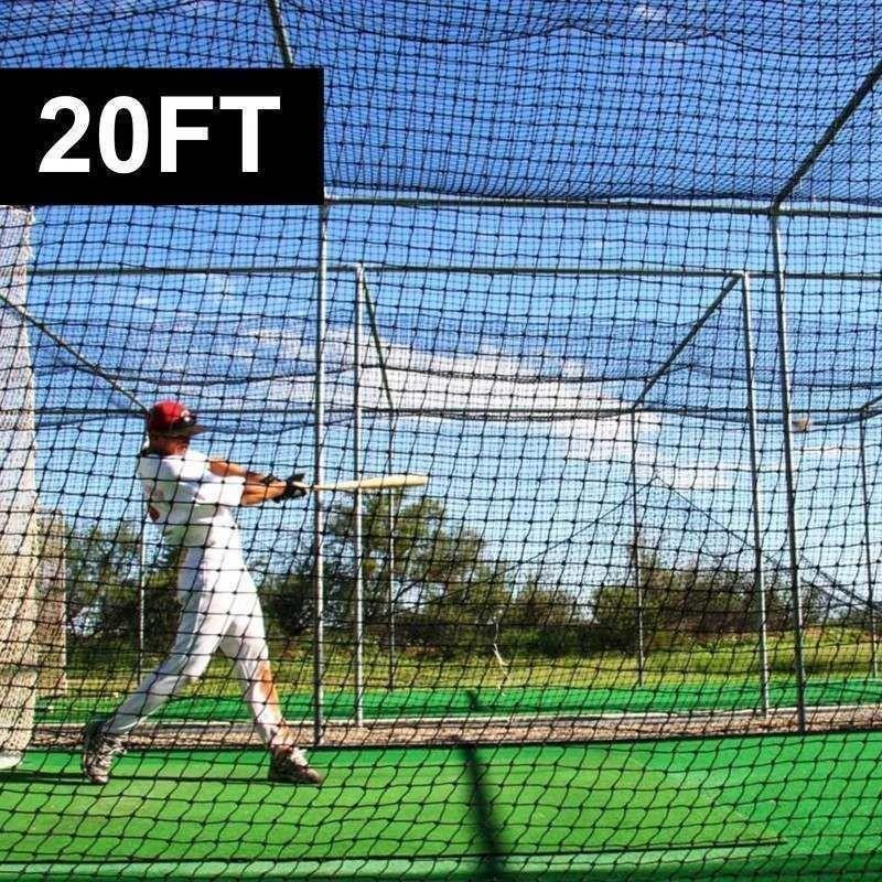 20ft X 8ft X 8ft Baseball Batting Cage Net 42 Batting Cages Batting Cage Net Batting Cage Backyard