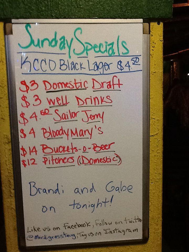 Sunday Funday Runs All Night Lots Of Drink Specials Until We Close Drink Specials Beer Brands Run All Night