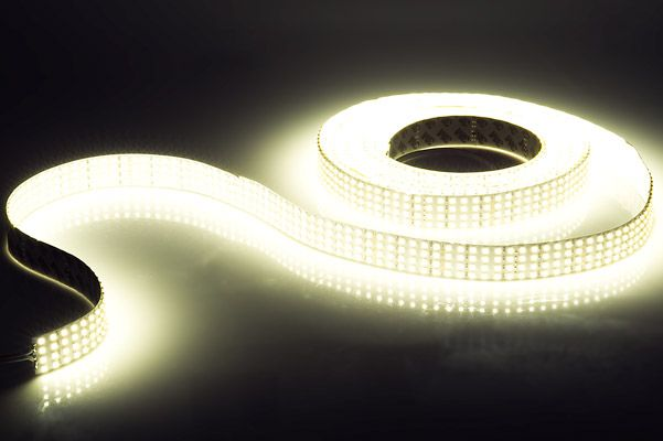 5m White Led Strip Light Highlight Series Led Tape Light High Cri Quad Row 24v Ip20 1 317 Lm Ft Led Tape Lighting Tape Lights Led Strip Lighting