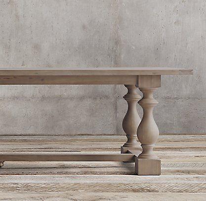 RH's 17th C. Monastery Rectangular Table