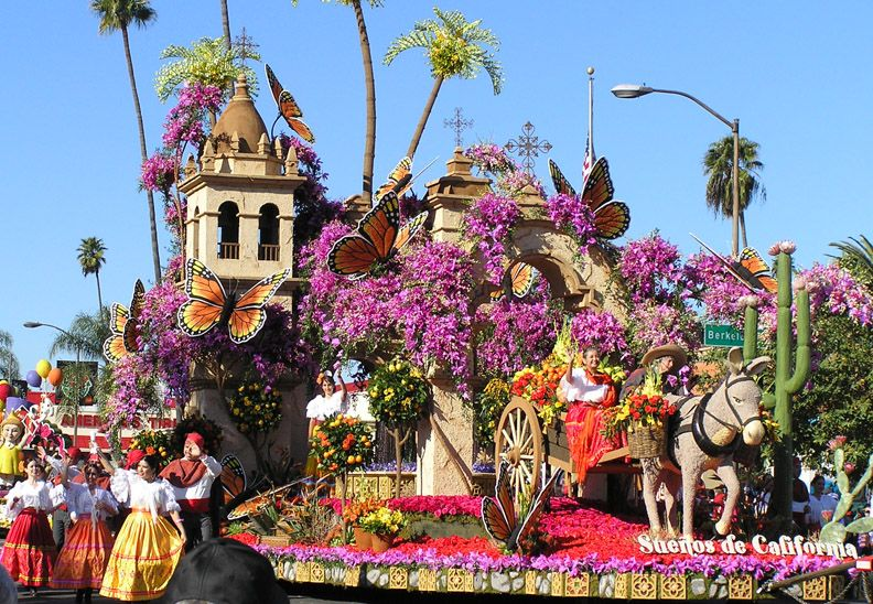 an introduction to the history of the 2000 rose bowl parade in pasadena california The oldest bowl is the rose bowl, played annually in the stadium also known as the rose bowl, in pasadena, california the concept, and the first college bowl game ever, was played on new year's day of 1902 between michigan and stanford this was created to help fund the annual rose parade, which has been held in pasadena since 1890.