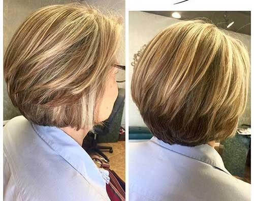 Awesome Short Stacked Bob Cuts You Should Try,Bob