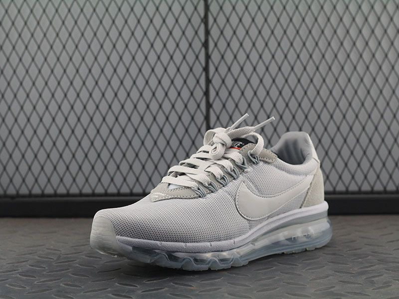 40516f9aa09 Nike air max full bubble LD zero pure platinum grey white low running   180retail