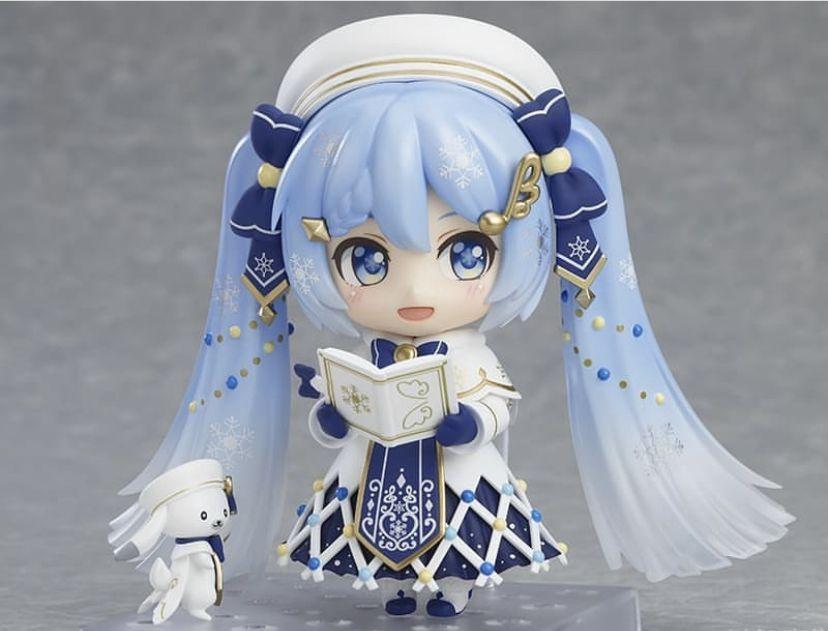 Miku Figure Christmas 2021 Snow Miku 2021 Nendoroid Nendoroid Anime Miku