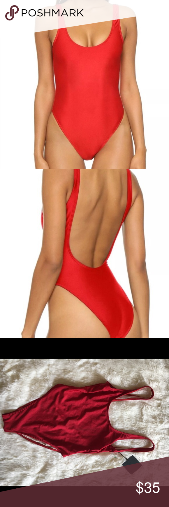 9ecbeb479ae Dixperfect Classic Red swimsuit 90's vibe size S Please see detailed  description in the last photo. dixperfect Swim One Pieces