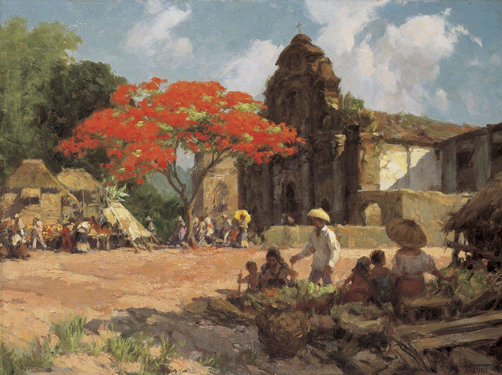 Fernando Amorsolo Filipino art, Philippine art, Art