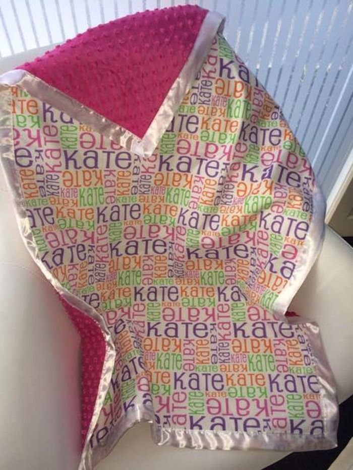 Pure & Thimble - Personalised blankets