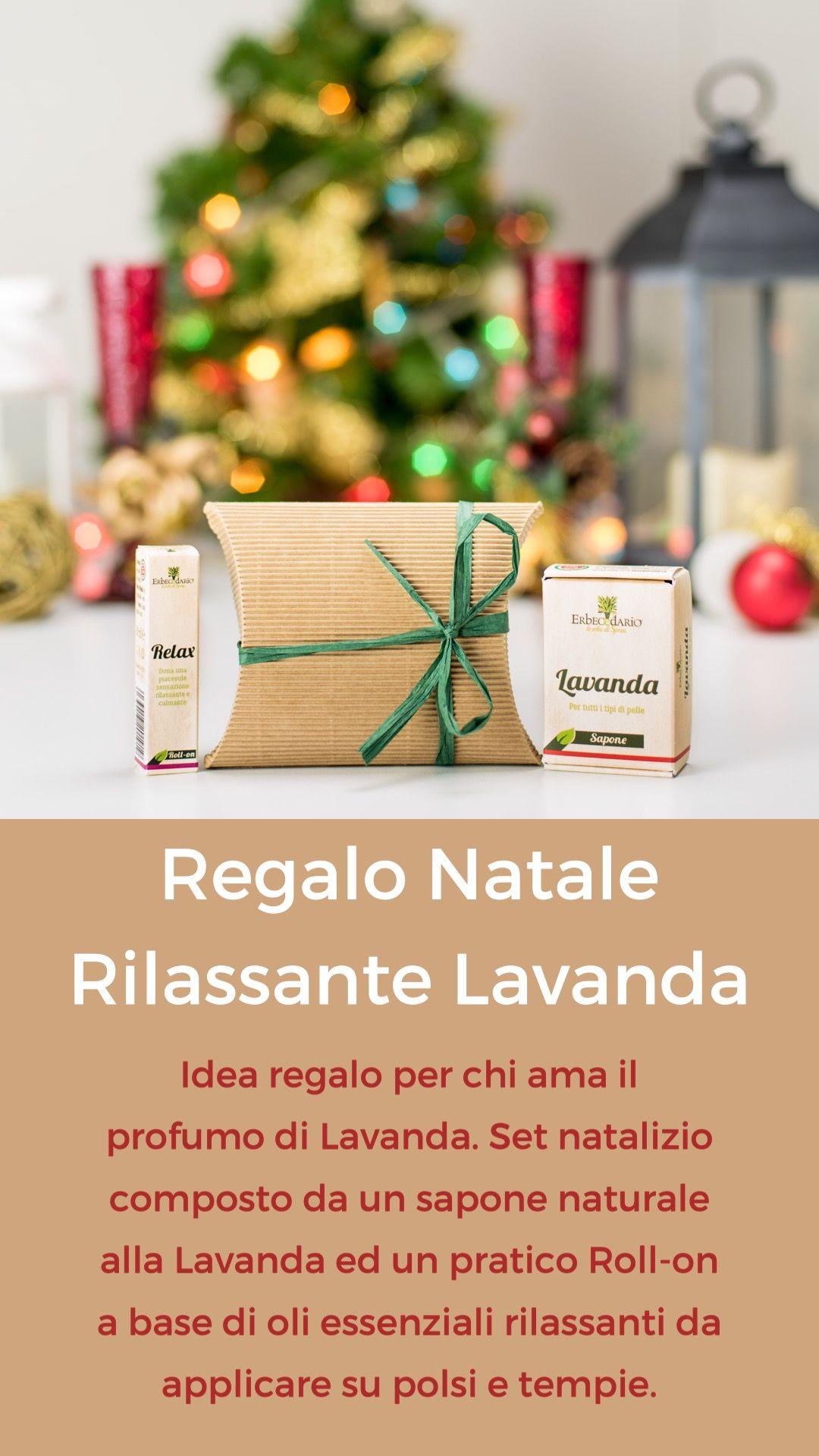 Regalo Natale Set Rilassante alla Lavanda   Regali, Idee regalo