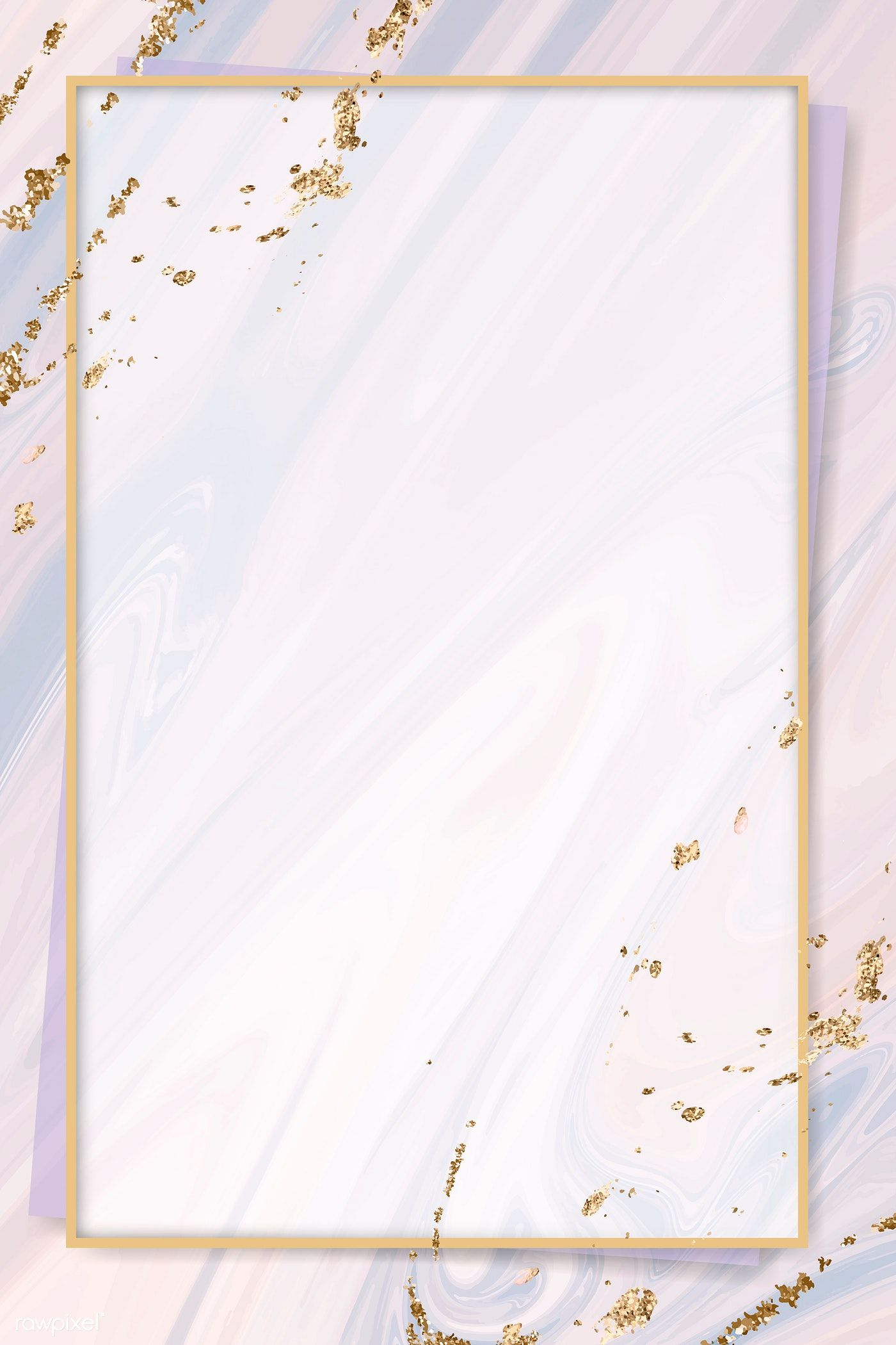 Pink Gold Frame On Pink Fluid Patterned Background Vector Premium Image By Ra Gold Wallpaper Background Flower Background Wallpaper Vector Background Pattern
