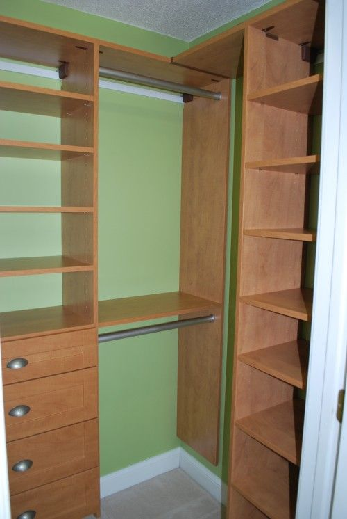 Using The Side Wall In A Somewhat Deep Reach-In Closet | Home