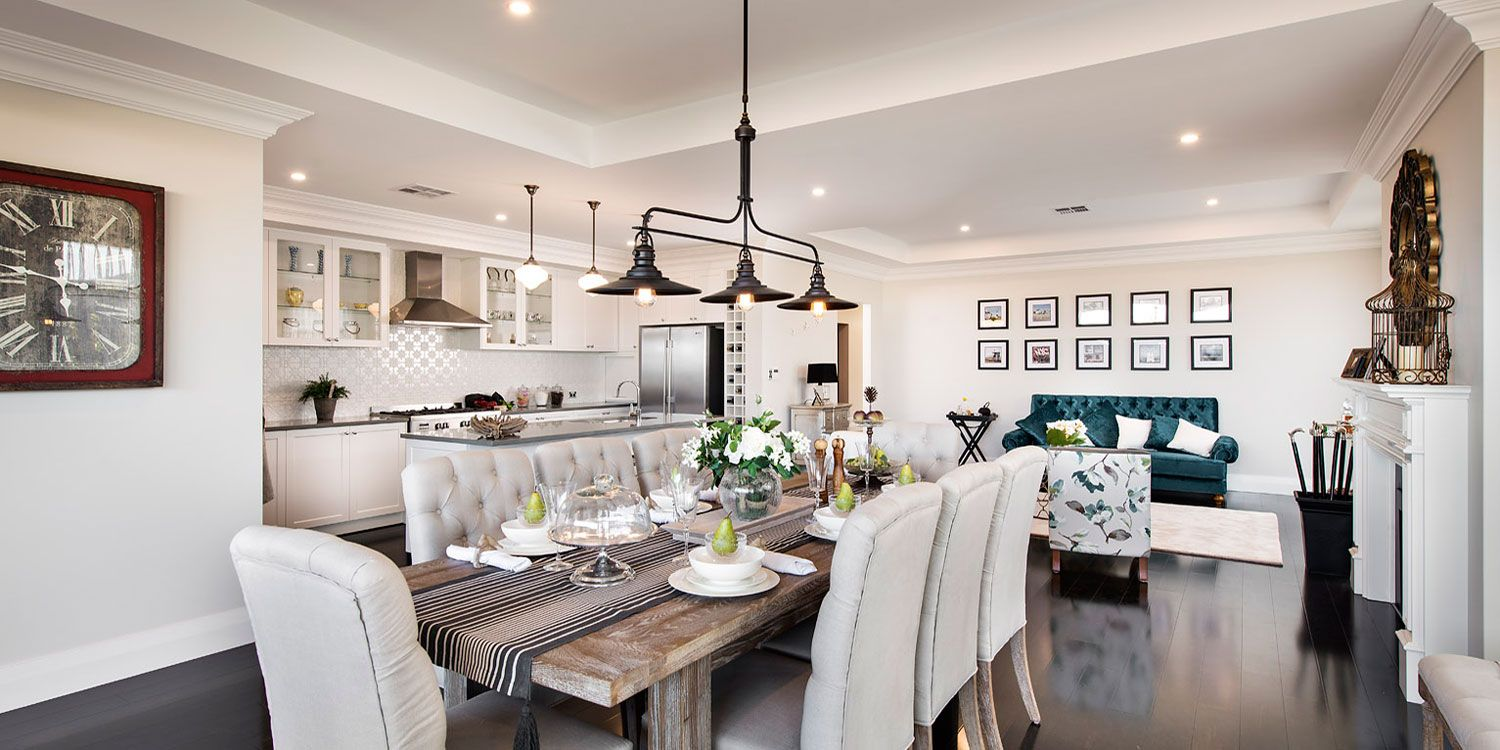 Hampton Home Design Ideas: New Hampton, Contemporary Open Plan Dining, WA
