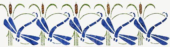 Dragonfly stencil