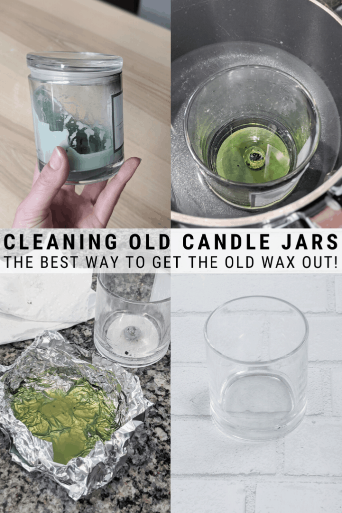 How to Clean a Candle Jar: Cleaning Old Wax Out of Jars for Upcycling
