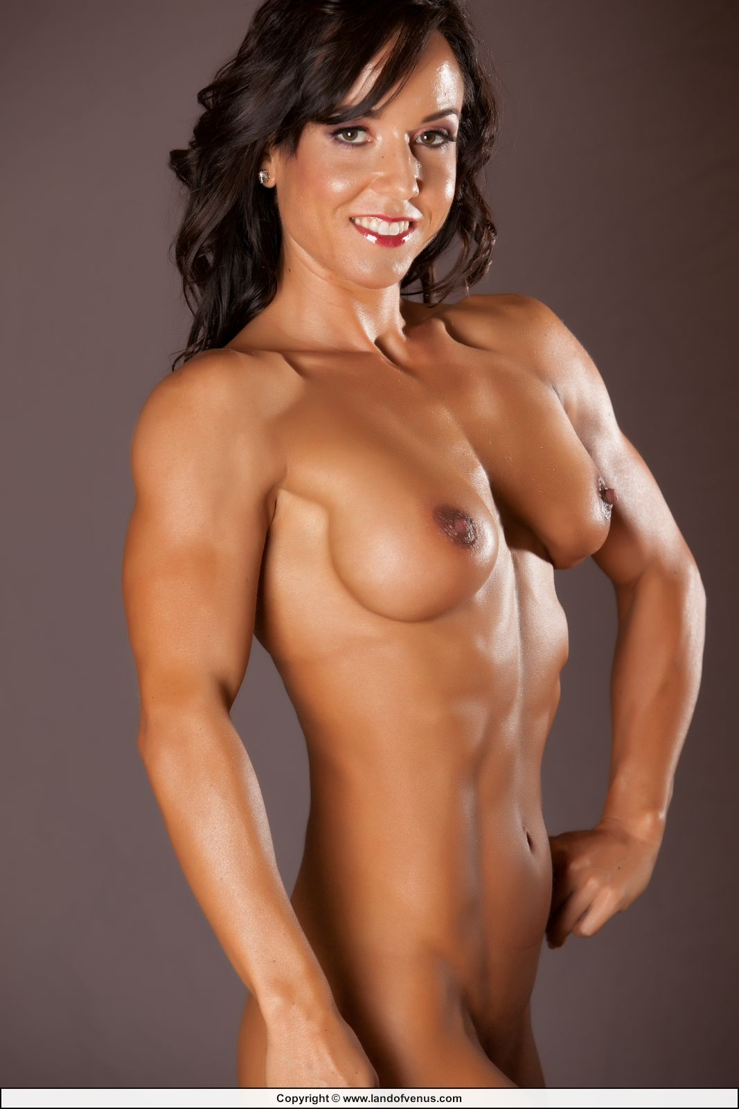 Naked women fitness models