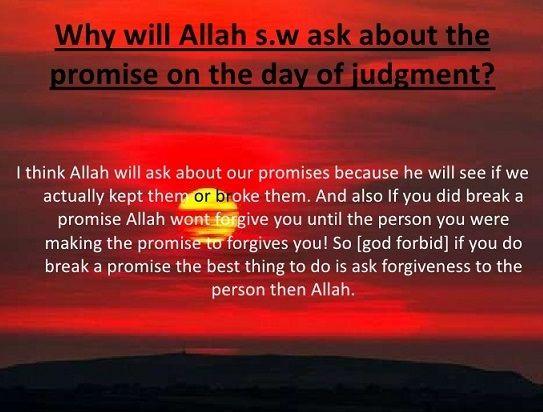 Pr 6 Allah S Messenger Pbuh Said On The Day Of Judgment Allah