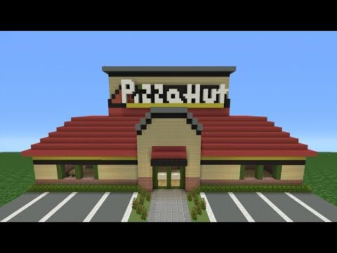 Minecraft tutorial how to make a pizza hut restaurant minecraft minecraft tutorial how to make a pizza hut restaurant publicscrutiny Choice Image
