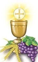 Pan Y Vino Sobre El Altar Son Ofrendas De Amor Pan Y Vino Seran Despues Tu Cue Oraciones Primera Comunion Primera Comunion Caliz Dibujos De Primera Comunion