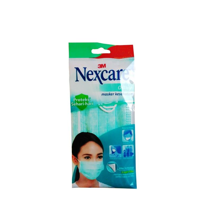 3m nexcare earloop face mask